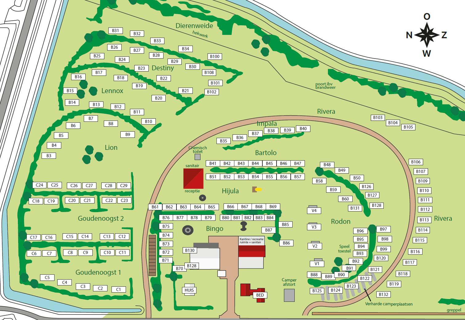 Map photo of Camping De Kolibrie